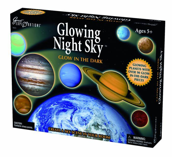 University Games Glow In The Dark Great Explorations 3D Solar System you can transform your ceiling or wall into a universe complete with glowing galaxies.
