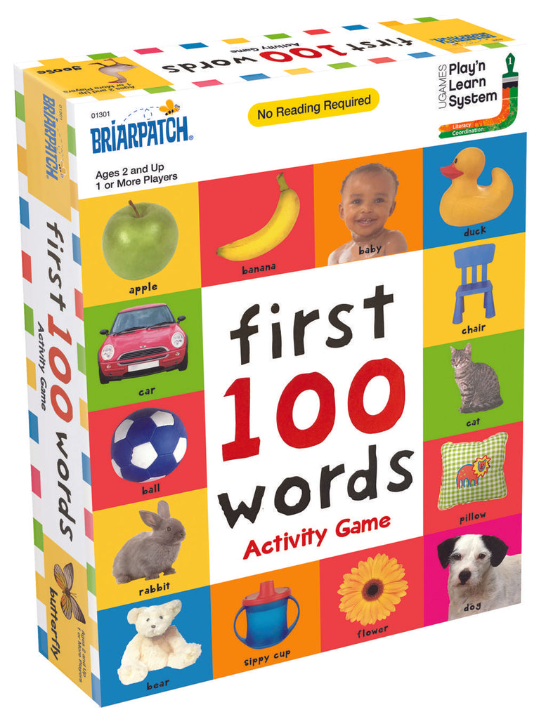 University Games  - First 100 Words™ Activity Game