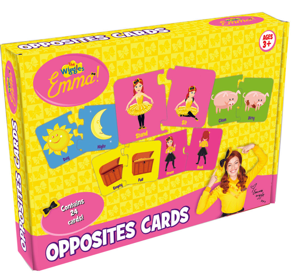Wiggles Emma Opposite Cards Game - A cool game featuring all your favourite Wiggles!