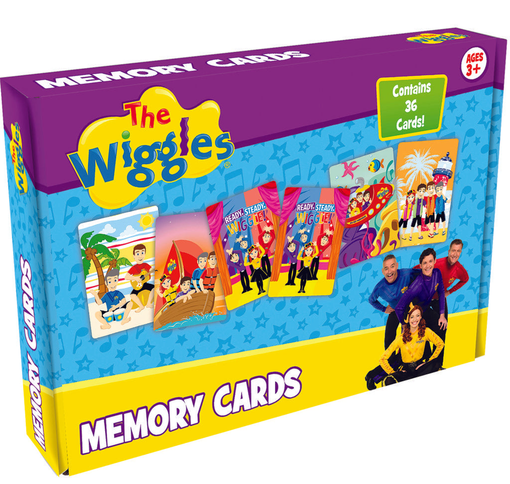 Wiggles Memory Cards Game - A cool game featuring all your favourite Wiggles!