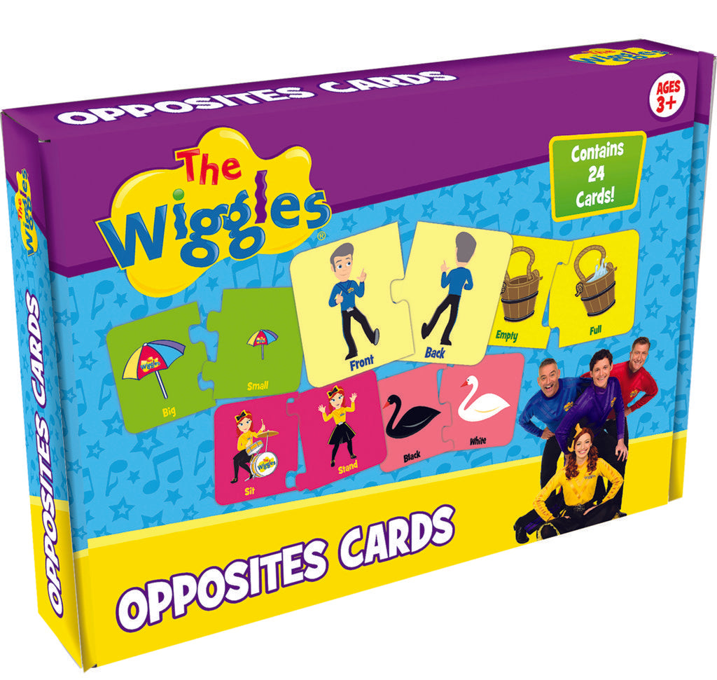 Wiggles opposite Cards Game - A cool game featuring all your favourite Wiggles!