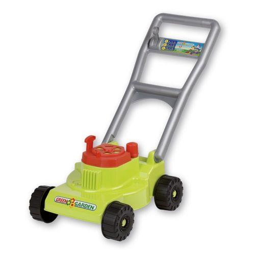 Green Garden Mower is a great accessory to have for winter and summer water and gardening play.