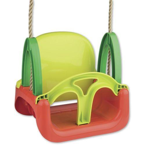 3 In 1 Green Garden Swing with Ropes is a great accessory to have for outdoor play.