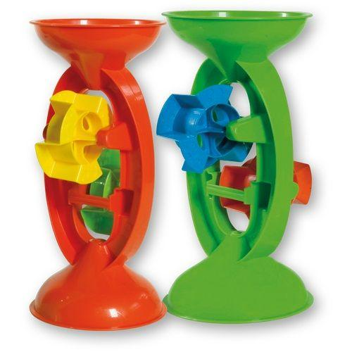 Summertime Water & Sand Wheel 28cm is a great accessory to have for winter and summer water and sand play.