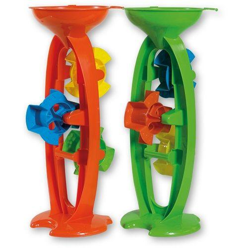 Summertime Sand & Water Wheel 35cm is a great accessory to have for winter and summer water and sand play.