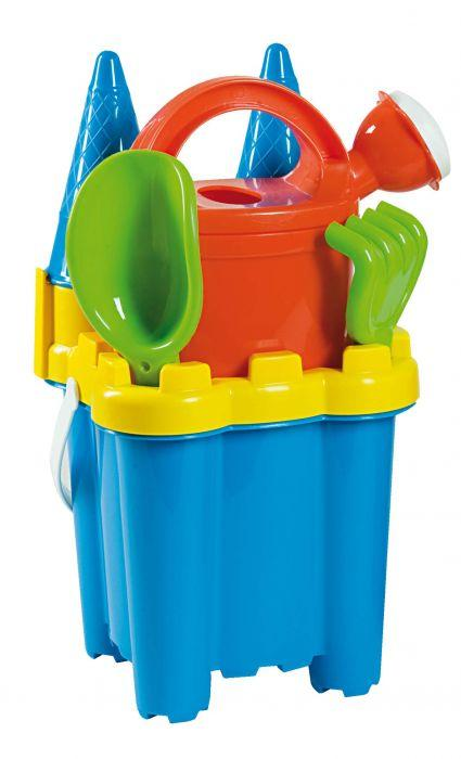Androni Summertime Cone Castle Bucket Set - The Toy Wagon