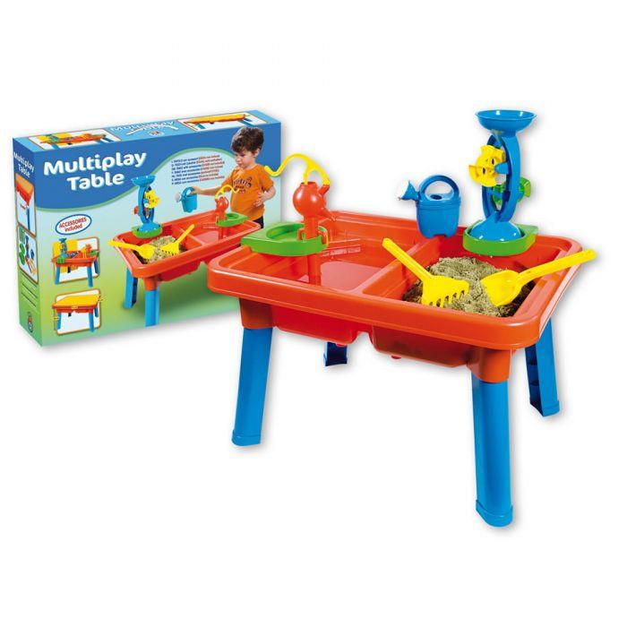 Androni Summertime Sand & Water Table is a great accessory to have for winter and summer water and sand play.