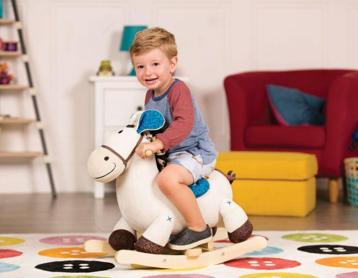 B. Rodeo Rocker Banjo is a classic fun for a children's play, direct from the Rodeo.