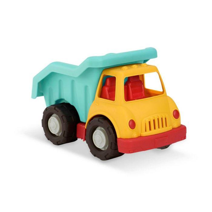 The Wonder Wheels Dump Truck from Battat is built sturdy to get heavy loads where they need to go.