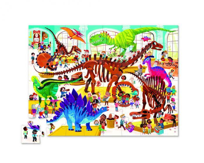 Crocodile Creek Shaped Box Puzzle Dinosaur 48pc - The Toy Wagon