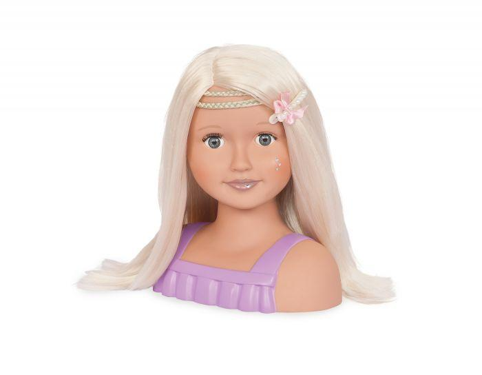 Our Generation Doll Bust - Blonde is the perfect accessory for your girls doll.