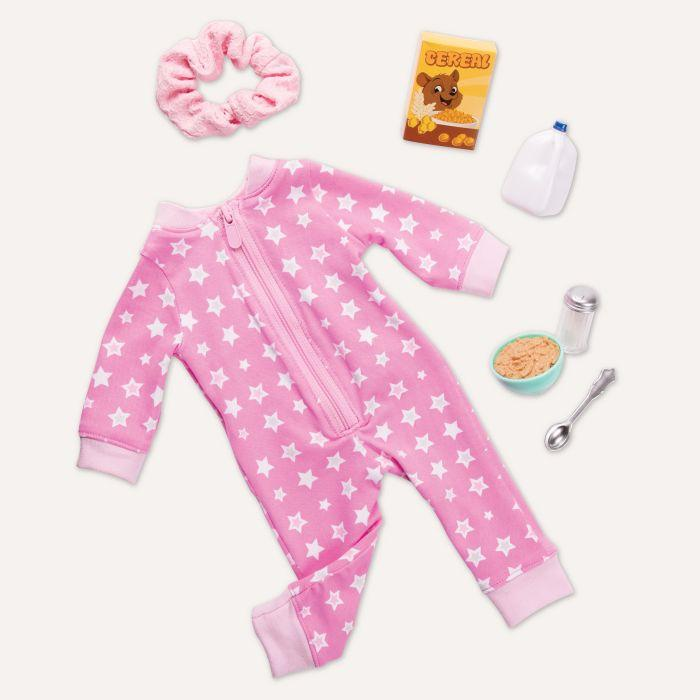 Our Generation Regular Outfit - Onesie Pyjama Outfit is an amazing doll for creative play for young girls.