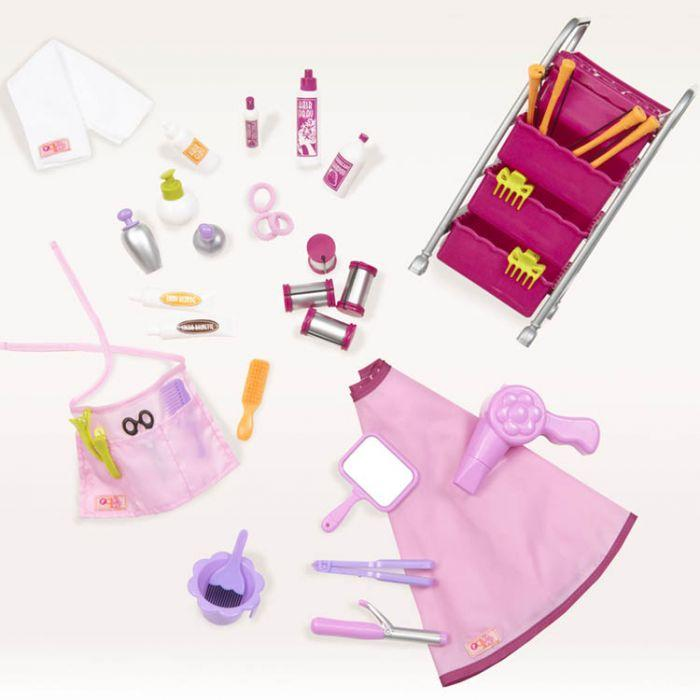 Our Generation Accessory Set Home - Berry Nice Hair Salon Play Set - The Toy Wagon