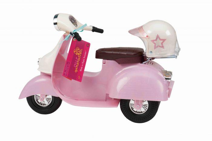 Our Generation Scooter - Pink & Ivory - The Toy Wagon