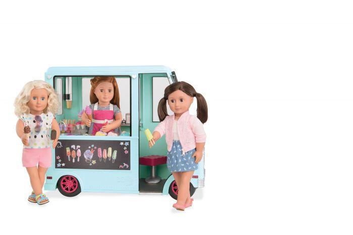 Our Generation Ice Cream Truck - Mint - The Toy Wagon