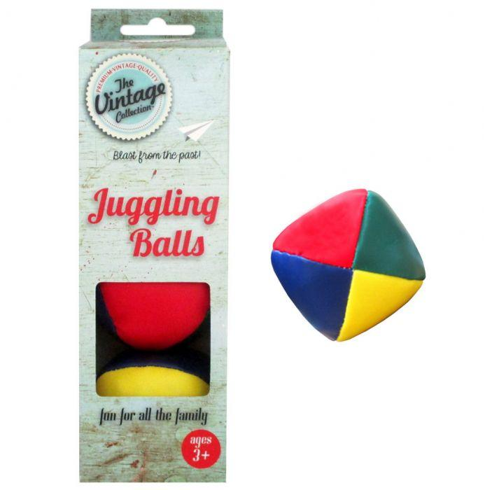 Vintage 6cm Juggling Balls Have fun with these juggling balls are a fun for all the family.