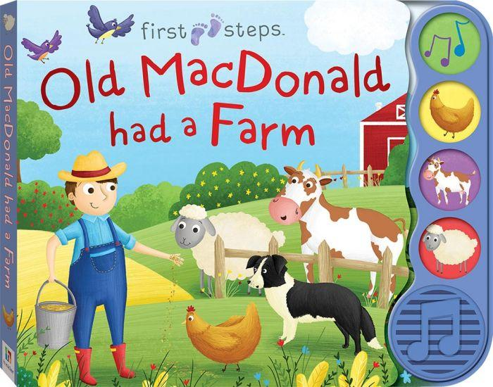 First Steps Sound Books Old MacDonald shows your child how much fun learning can be.
