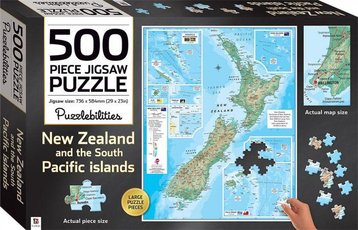 New Zealand 500 Piece Jigsaw Puzzle will help you test your kids mind and your puzzles skills.