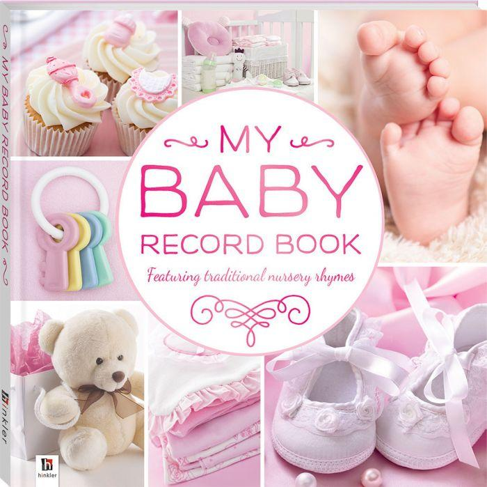 My Baby Record Book Pink Create a lasting memento of your baby's first year.