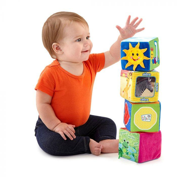 Baby Einstein Explore & Discover Soft Blocks - The Toy Wagon