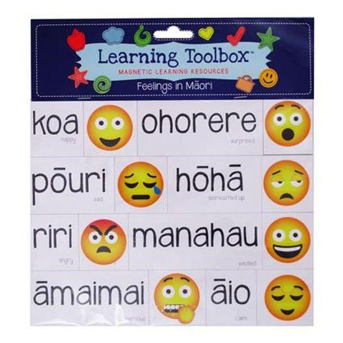 NZ Magnetic Maori Feelings & Emotions - The Toy Wagon