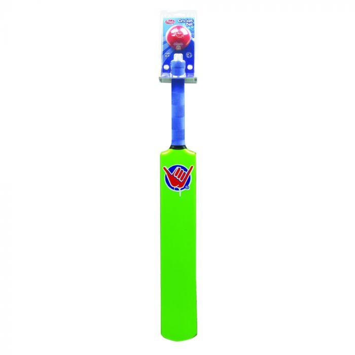 Wahu Green Cricket Bat & Ball is an amazing outdoor kids toy. Great for the backyard or beach.