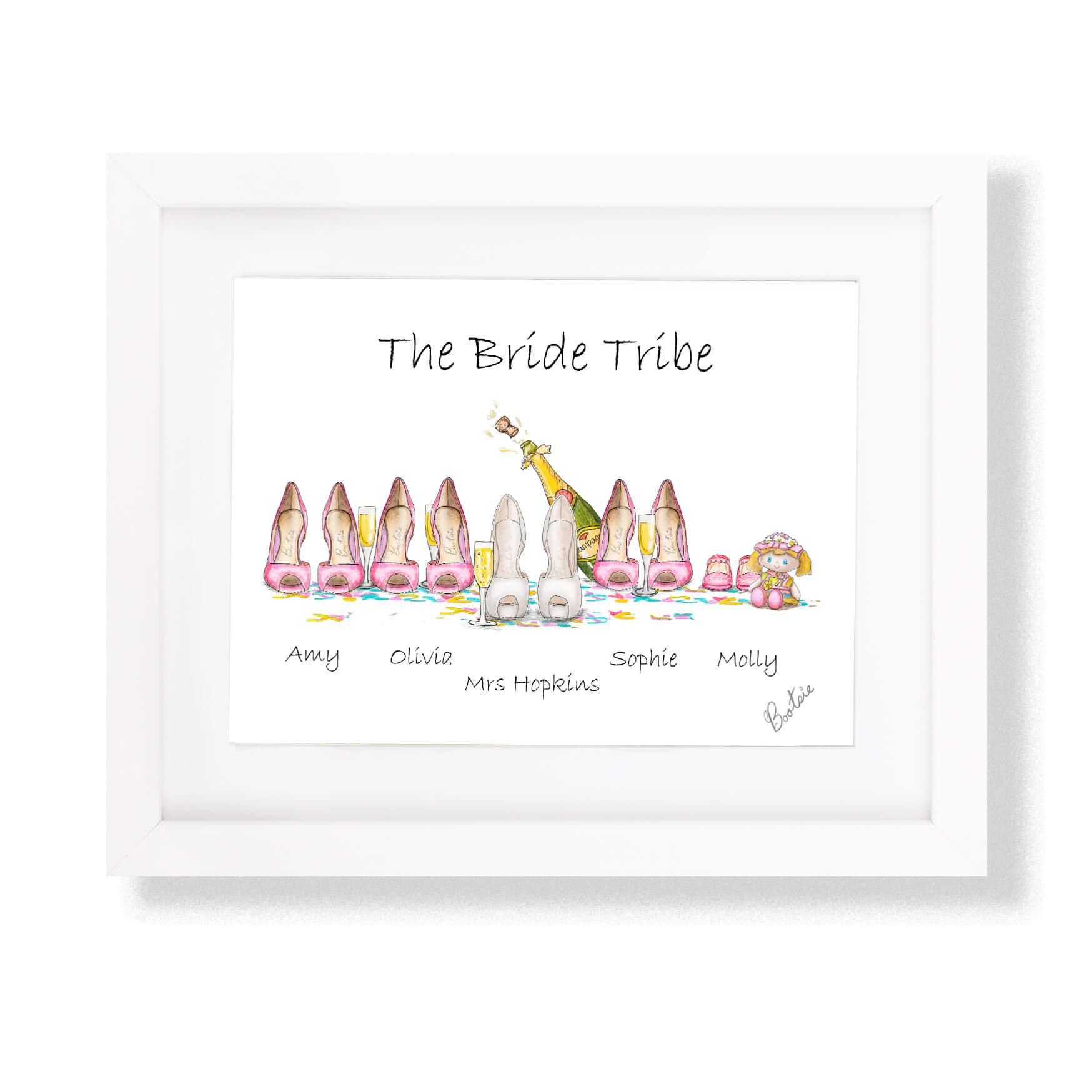 Wedding Gift Illustrations