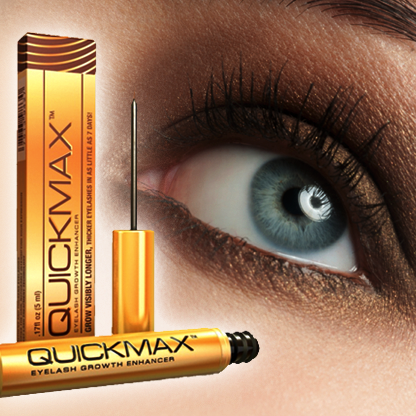 Longer, Sexier Eyelashes with QuickMax™!