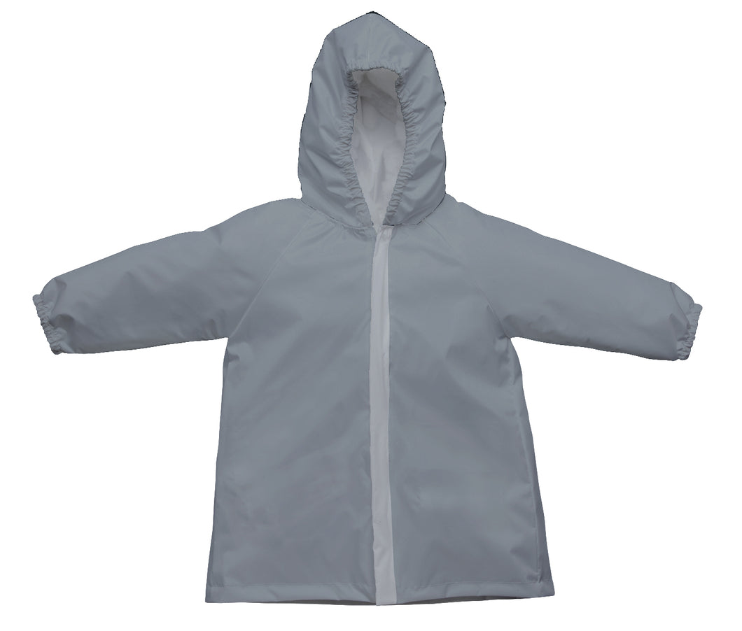 Lightweight Raincoat-Gray