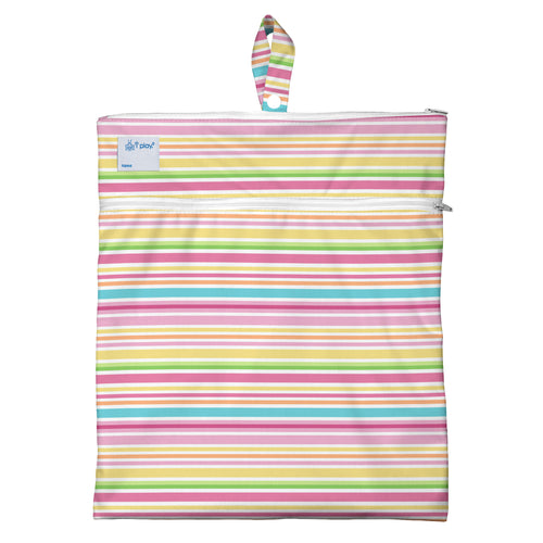 Wet & Dry Bag - Pink Multistripe