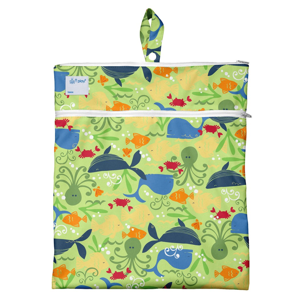 Wet & Dry Bag - Green Sealife