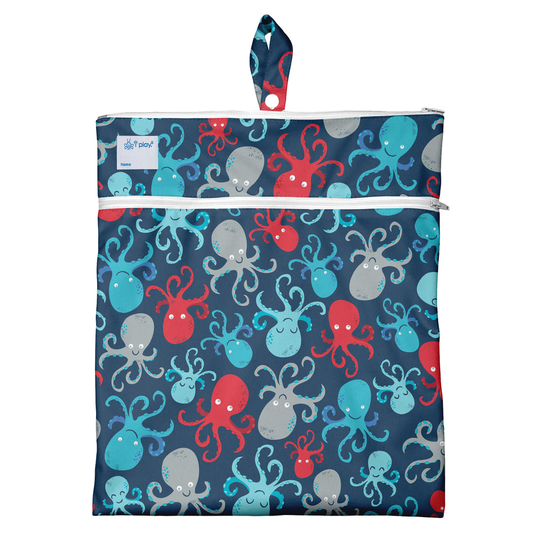 Wet & Dry Bag - Navy Octopus