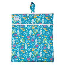 Load image into Gallery viewer, Wet & Dry Bag - Aqua Seahorse