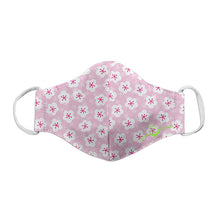 Load image into Gallery viewer, Reusable Face Mask Child-Pink Blossoms