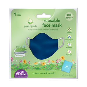 Reusable Face Mask Adult-Navy