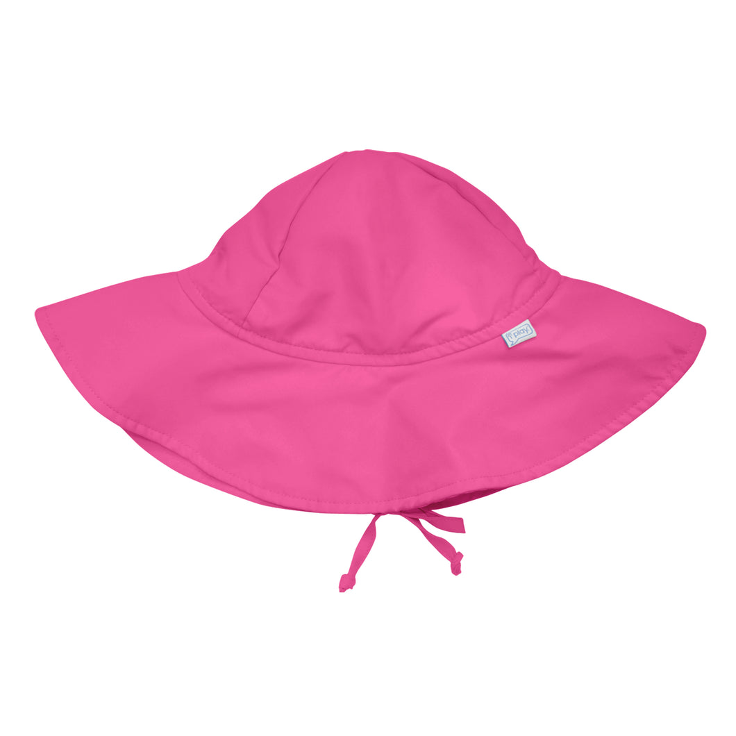 Brim Sun Protection Hat-Hot Pink