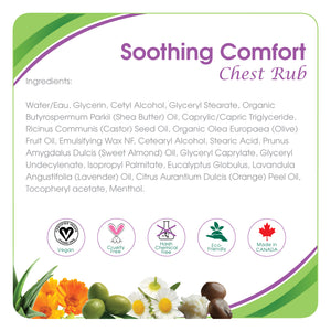 Aleva Natural Soothing Comfort Chest Rub- 1.7 fl.oz / 50ml
