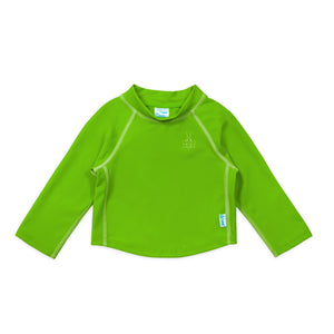 Long Sleeve Rashguard Shirt-Lime