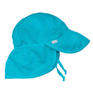 Flap Sun Protection Hat-Aqua