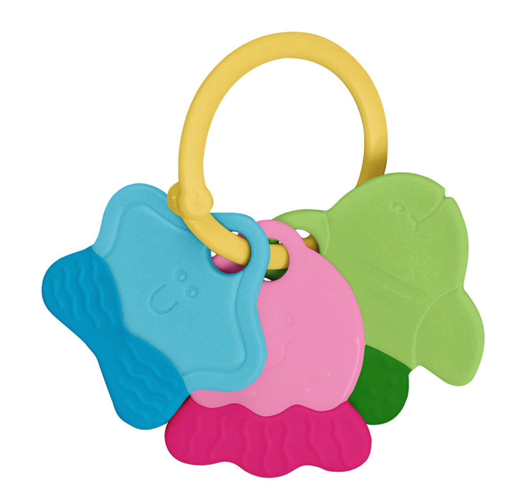 Teething Keys-Multicolor-3mo+