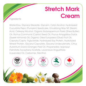 Aleva Natural Stretchmark Cream- 3.4 fl.oz / 100ml