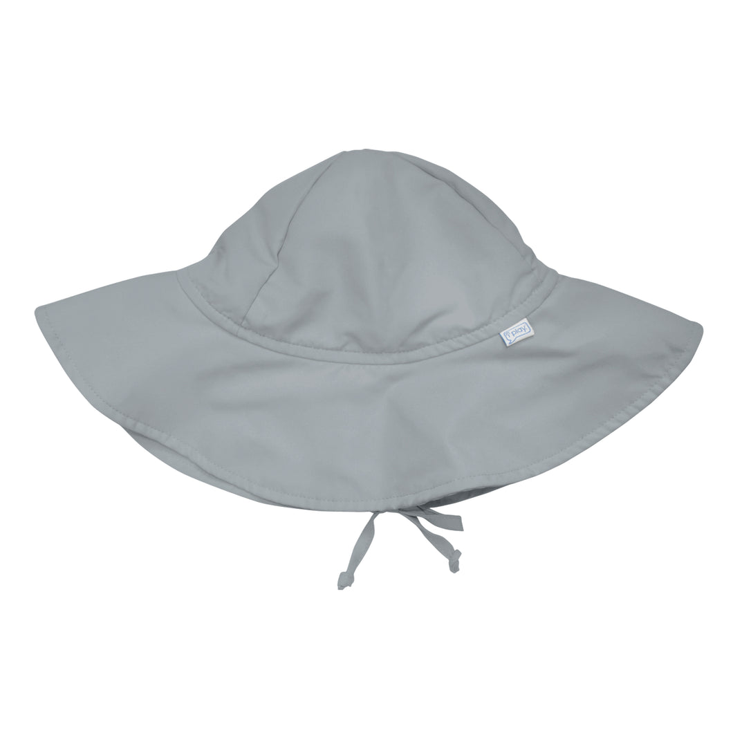 Brim Sun Protection Hat-Gray