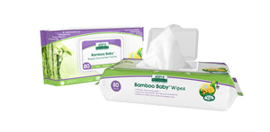 Aleva Natural Bamboo Baby Wipes - 80ct