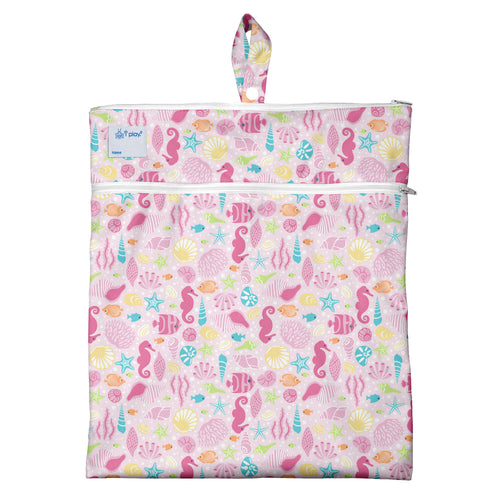 Wet & Dry Bag - Pink Sealife