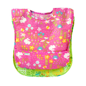 Easy-wear Toddler Bib (2pk)-Pink Set-9/18mo