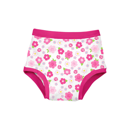 Reusable Absorbent Training Underwear-Floral