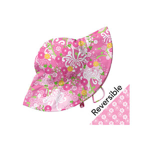 Mix and Match Reversible Brim Sun Protection Hat-Light Pink Mum's Garden