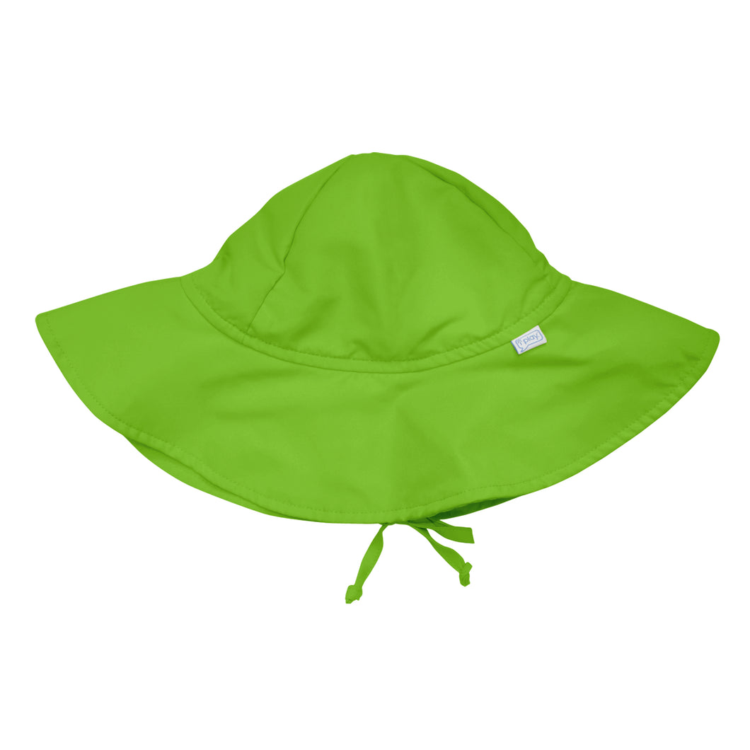Brim Sun Protection Hat-Green