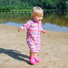 Load image into Gallery viewer, One-piece Swim Sunsuit-Pink Seahorse