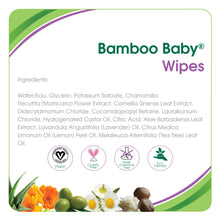 Load image into Gallery viewer, Aleva Natural Bamboo Baby Wipes - 80ct